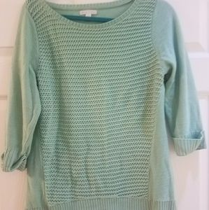 New York and Company mint sweater medium